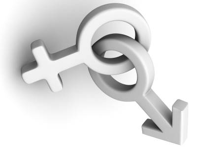 symbol of male and female gender