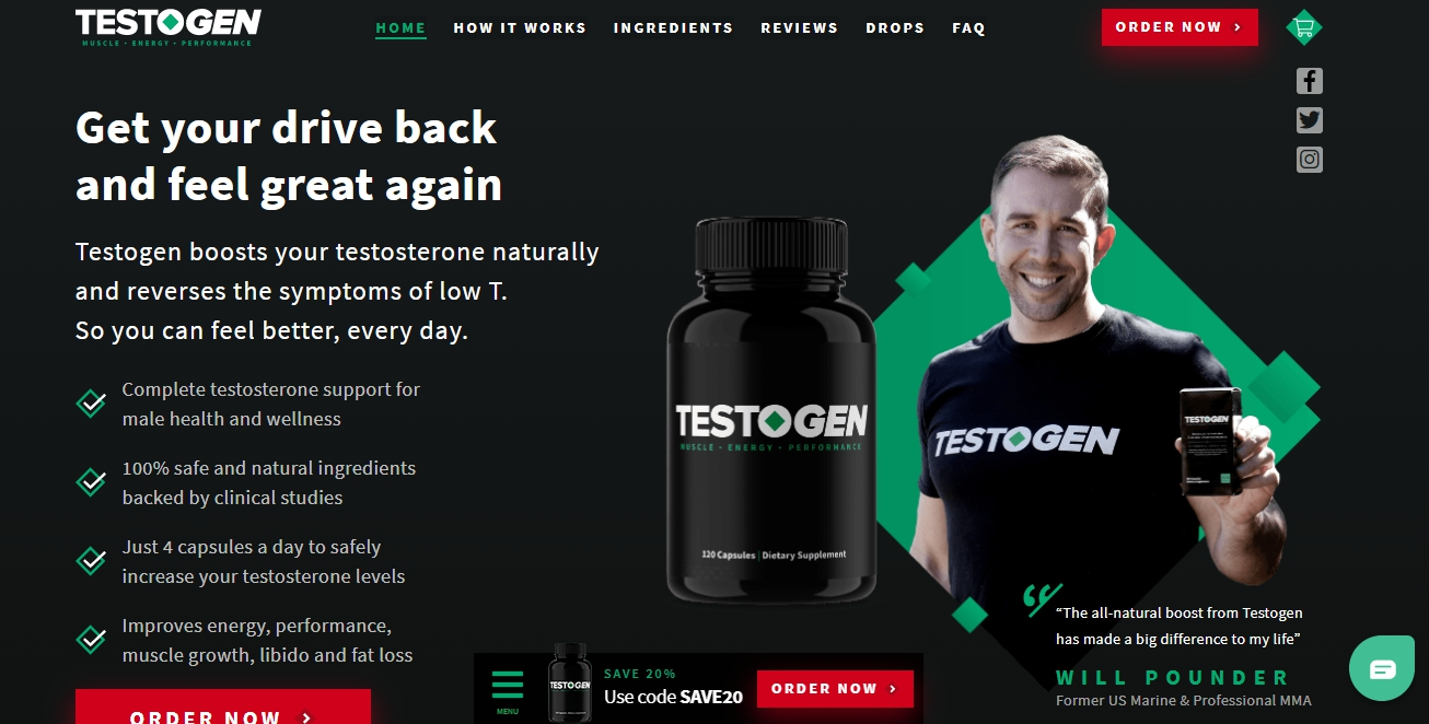 does testogen work 2021